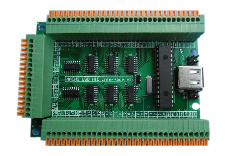 Martzis usb hid interface card for Linux emc and Mach 3